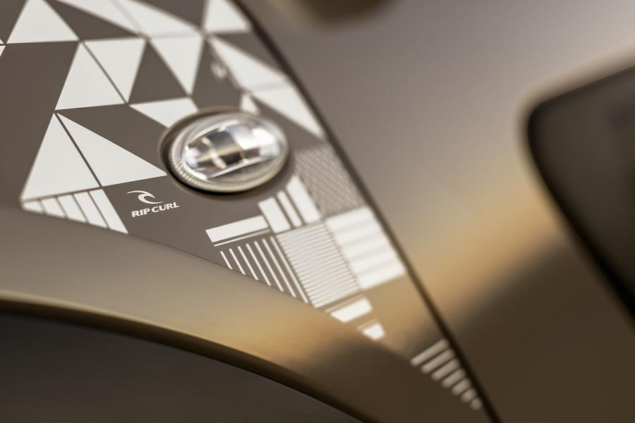 Detalhes do Citroën C4 Cactus Rip Curl castanho
